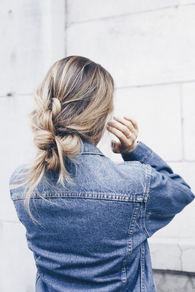 SEPHORA : MOROCCANOIL KNOTTED PONYTAIL